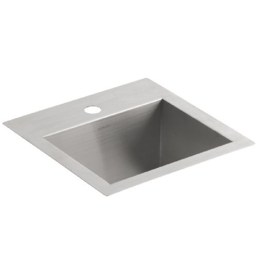 Kohler Vault 3840-1-NA Small Stainless Steel Kitchen Sink